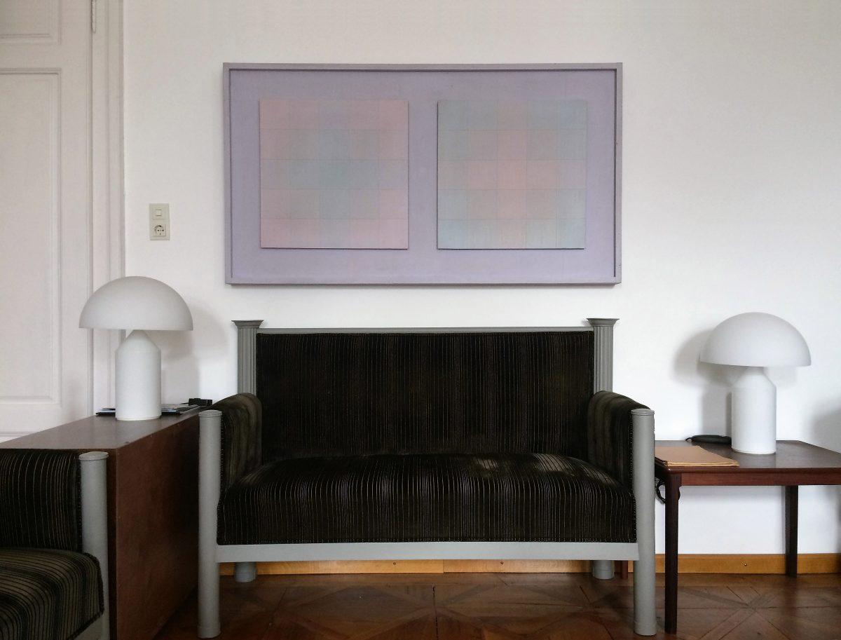 Tornquist Raum und Farbe im Atelier
